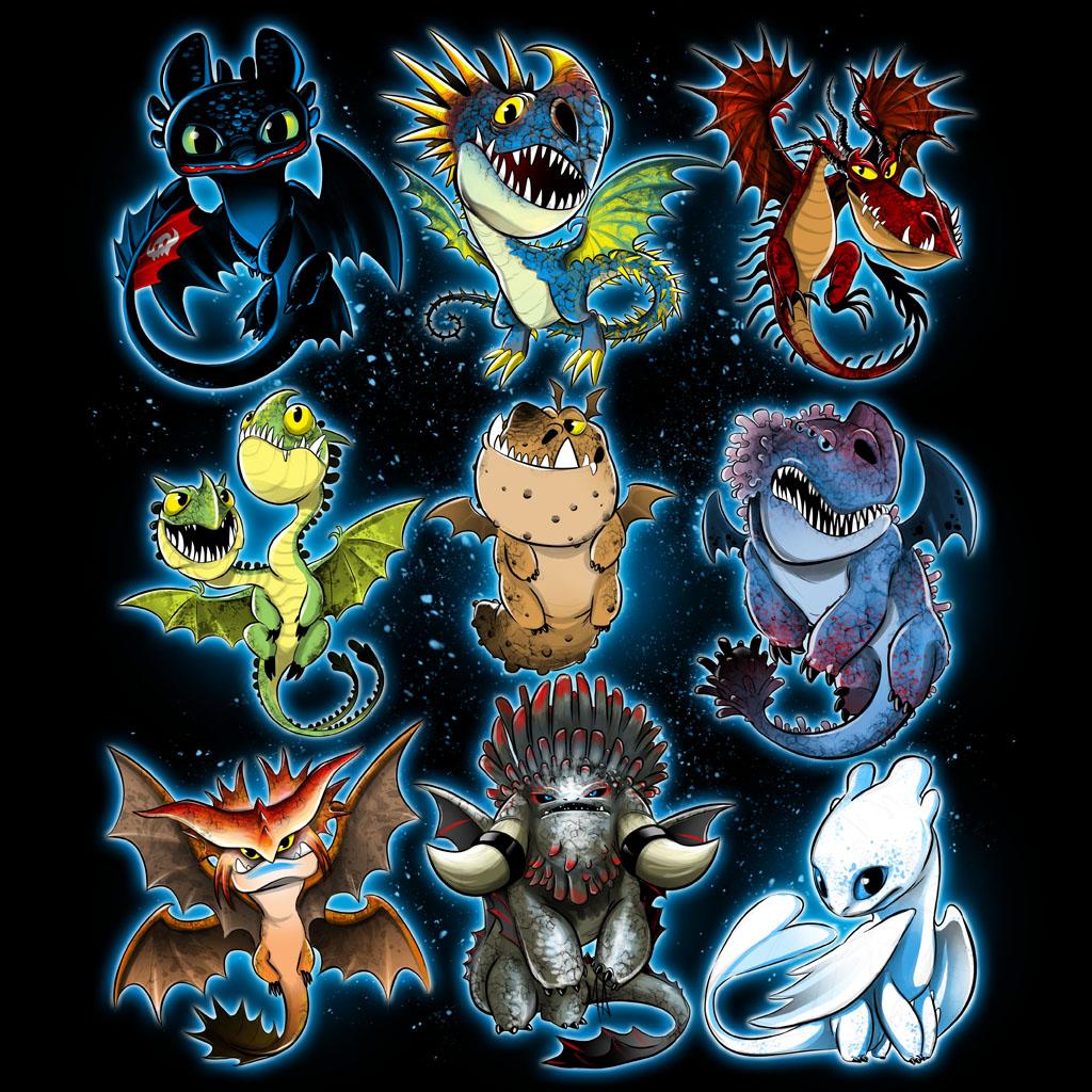 Kawaii Dragons
